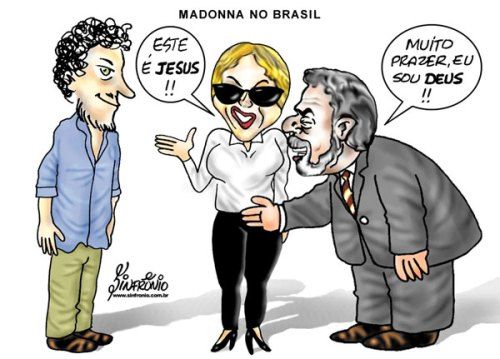 Madonna und jesus bei Lula
