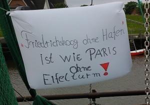 Friedrichskoog ohne Hafen ist wie Paris ohne Eifelturm